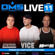 Direct Music Service LIVESTREAM with special guests Fuseamania, DJ Mighty Mi & VICE