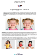Clipping Path Service| Best Clipping Path Company-CLIPPOUTLINE