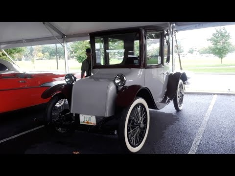1917 Milburn Electric Model 27 Brougham Park In A Volt,Not A Garage  2018 RM Sotheby's, Hershey