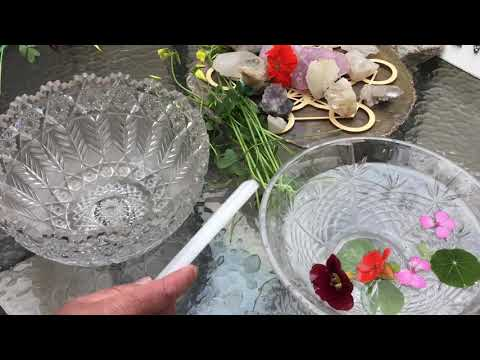 Imagine with Crystal bowls and crystals