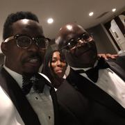 Pastor Osborne and K. Jenkins at the Gala 12 Oct. 2018