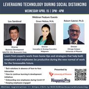 Leveraging Technology during Social Distancing Webinar