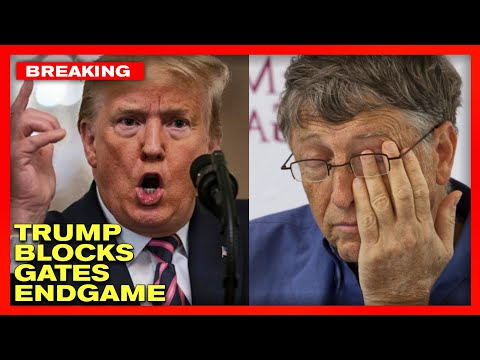 EASTER MIRACLE! Trump and Barr Erect FIREWALL Around Bill Gates COVID-19 ENDGAME!