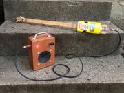 canjo + cigar box amp = fun
