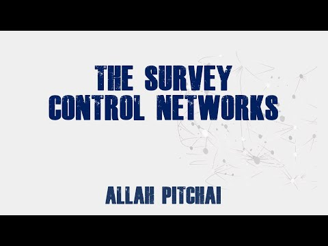 SURVEY CONTROL NETWORKS BY STATIC SURVEY