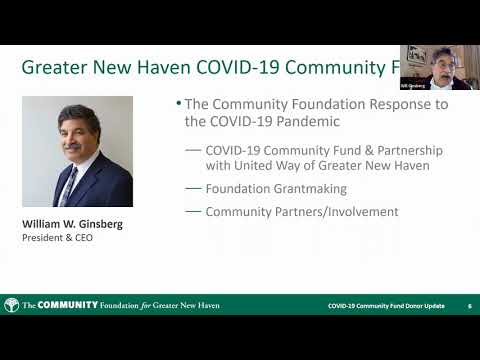 GNH COVID 19 Community Fund Donor Update April 8, 2020