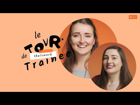 (thuis) Traineeship Gemeente Amsterdam   LE TOUR DE thuiswerk TRAINEE   2. Nienke & Willianne