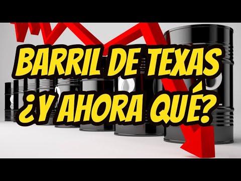 Barril de Texas y Brent analisis