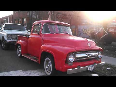 A Funky '56 Ford F100 A Street Treat From Brooklyn