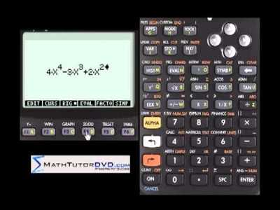 Finding roots of Polynomials using the HP-50g Calculator