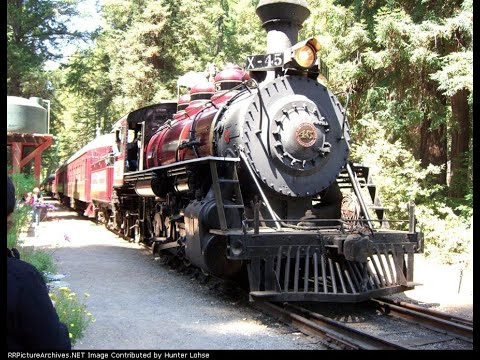 California Western Railroad: Fort Bragg to Northspur 8/14/08