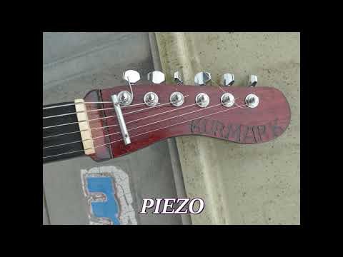 Kurmark tin guitar