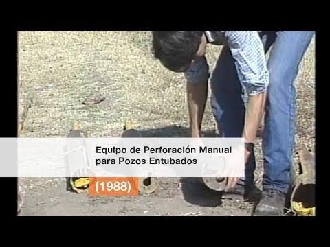 Equipo de Perforación Manual para Pozos Entubados (1988)
