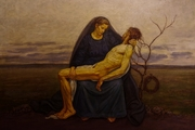 Μεγαλο Σαββατο ο Χριστος στον ταφο