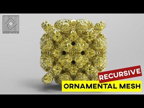 Recursive Ornamental Mesh