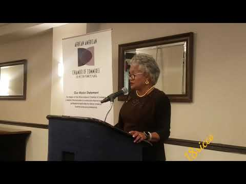 African American Chamber of Commerce Power Breakfast with Geraldine M Jones