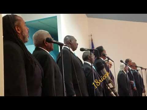 "Second Baptist Church Male Choir singing ""where the spirit is"""