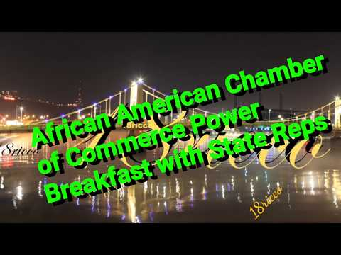 African American Chamber of Commerce Power Breakfast Panel with State Reps