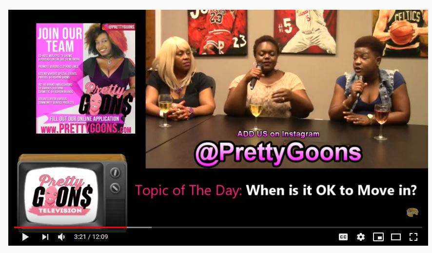 When is OK to move in? #PrettyGoons TV NEW EPISODE