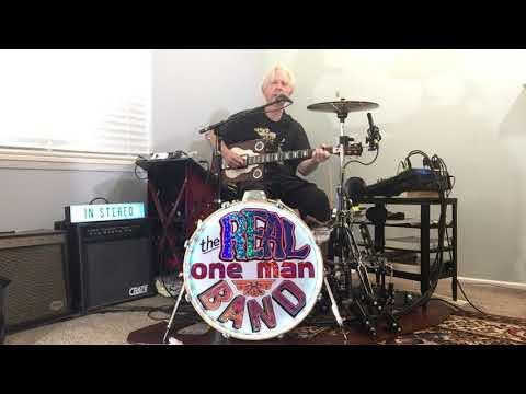 Dock On The Bay cover by the REAL One Man Band!