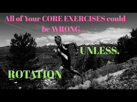 Running Strong: All of YOUR CORE exercises could be WRONG unless you are getting ROTATION.