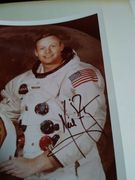 Neil Armstrong Autograph  TOP BLACK MARKER  circa..1980 to Jim Hall