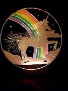 Fantasia Glitter Graphic Lightbox