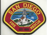 CALIFORNIA FIRE PATCHES #2