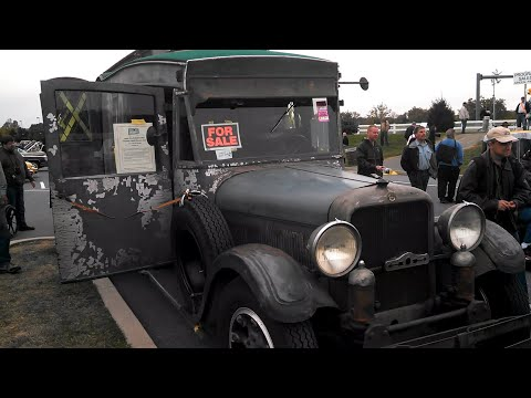1929 Studebaker Bus House Car at the 2013 AACA Hershey Fall Meet