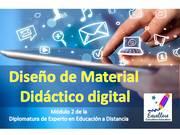 Curso: Diseño de Material Didáctico Digital- Inicia el 9/8