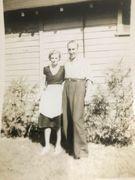 Hazel (Sterritt) and Arthur Aishford Ontario (1940s)