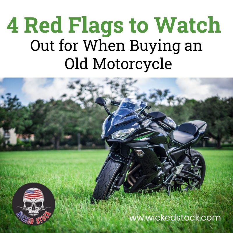 4 Red Flags to Watch Out for When Buying an Old Motorcycle