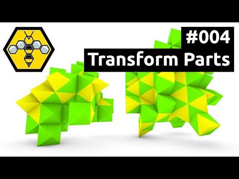 Wasp for Grasshopper #101 - Tutorial #004: Transforming Parts