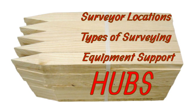 Land Surveyor Hubs and Miniature United Communities