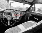 Interior, 1947 Plymouth Deluxe