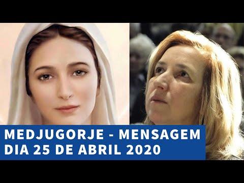 MEDJUGORJE – Mensagem Dia 25 de ABRIL 2020 através de Marija Pavlovic Lunetti