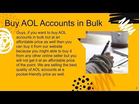 Buy AOL Accounts