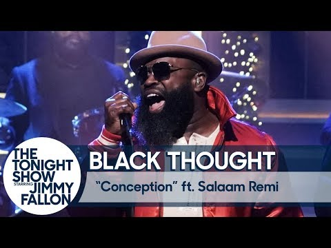 """Black Thought and Salaam Remi Perform """"Conception"""" on The Tonight Show"""