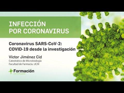 """Webinar: """"Coronavirus SARS-CoV-2: COVID-19 desde la investigación"""""""