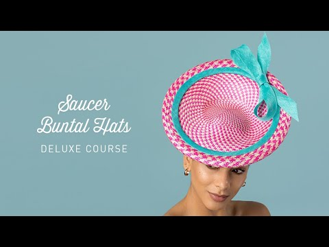 Saucer Buntal Hats Course Preview