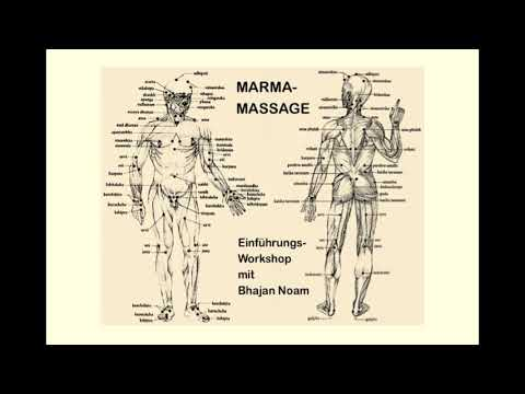 Live Workshop TEASER Marma-Massage Einführungsworkshop mit Bhajan Noam 11.05.2020 - 12.05.2020