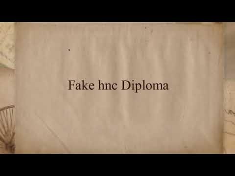 Fake Btec Diploma