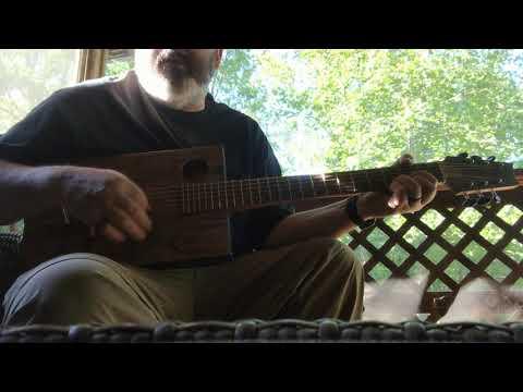 Paradise - Cigar Box Guitar.