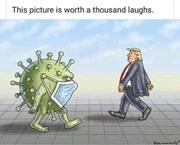 corona trump