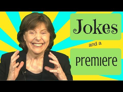 English Jokes and a Premiere Announcement