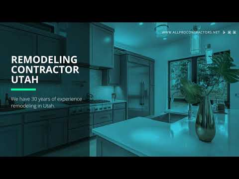 All Pro Contractors: Home Remodeling in Utah