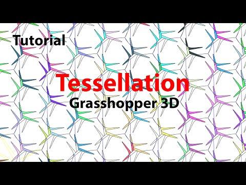 Computational Tutorial M.C.Escher Tessellation in Grasshopper and Rhino