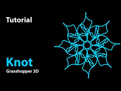 Computational Tutorial - Natural flow of biomorphic pattern in Grasshopper 3D & Rhino