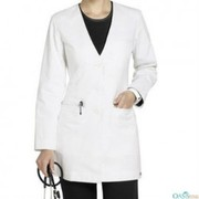 wholesale pearly white coat for lady doctors