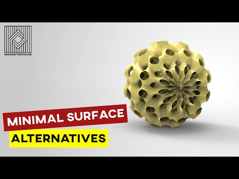 Minimal Surface Alternatives